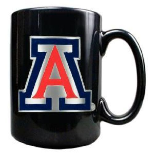 Arizona Wildcats 15oz Black Ceramic Mug