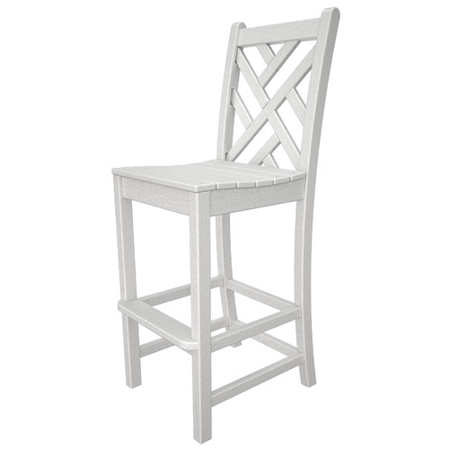 POLYWOOD Chippendale 30'' Bar Stool by Polywood