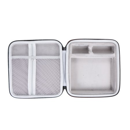 External Hard Drive Disk Case EVA Case for 3.5in HDD with Mesh Pocket and Soft Inner Fabric Carrying Case for Travel and Office Use - image 3 of 7