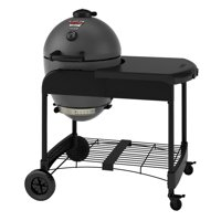 Char-Griller Akorn Kamado Grill with Cart, Grey