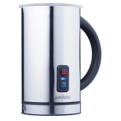 HAROLD IMPORT COMPANY Aerolatte Automatic Hot or Cold Milk Frother and Cappuccino Foam Maker
