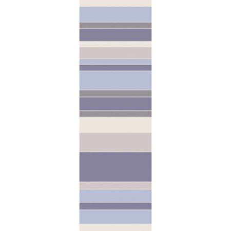 Bungalow Rose Buckhead Hand Tufted Wool Bluepurple Area Rug