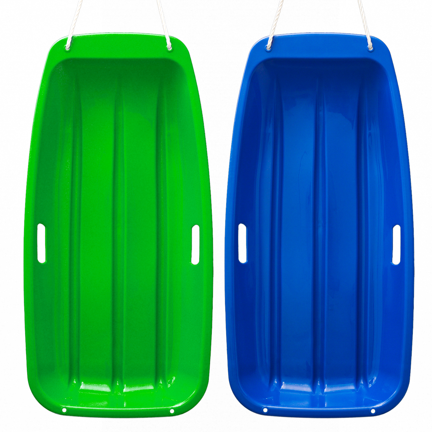 IMagE 35*17*4.3inches Kids Snow Sled Plastic Toboggan Boat Sledge Snowboard by