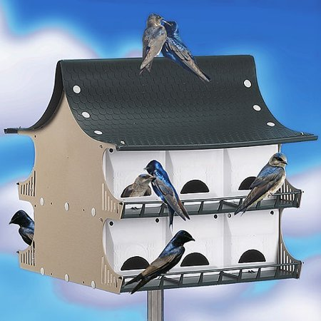 (12-Family Purple Martin Birdhouse)