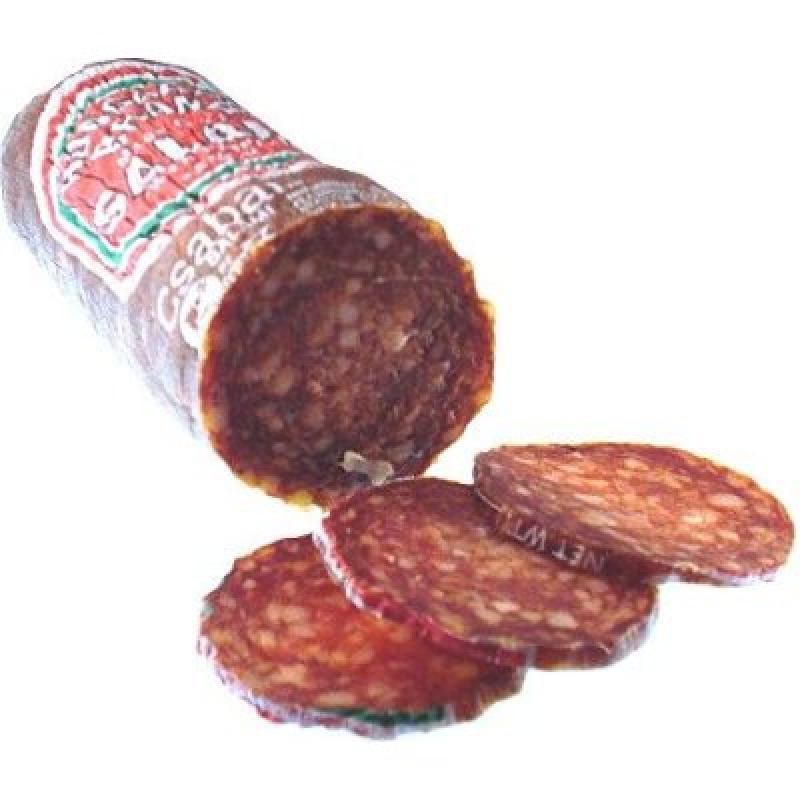 Bende Csabai Hungarian Style Salami with Paprika Short approx 0.8 lb by