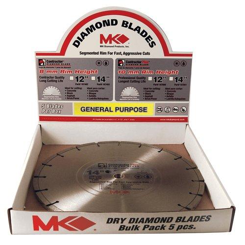 """MK Diamond 167483 14"""" Contractor Plus Diamond Blade"""