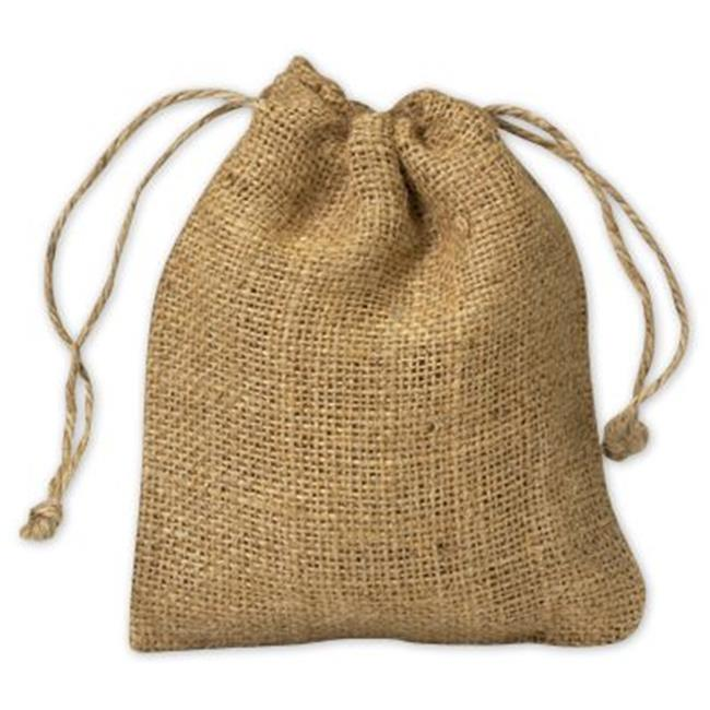 Bags & Bows by Deluxe 924-21 Burlap Cloth Bags - Case of 12