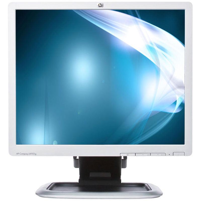 "Refurbished HP LA1951G 1280 x 1024 Resolution 19"" LCD Flat Panel Computer Monitor Display"