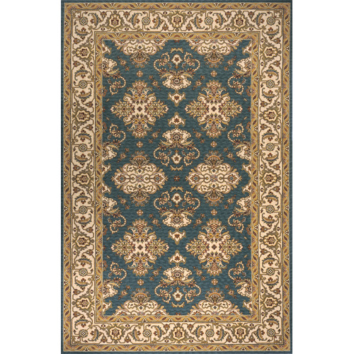 Momeni Persian Garden Teal Blue Area Rug