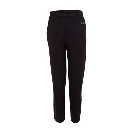 - Champion Fleece Double Dry Eco Open Bottom Sweatpants with Pockets P800