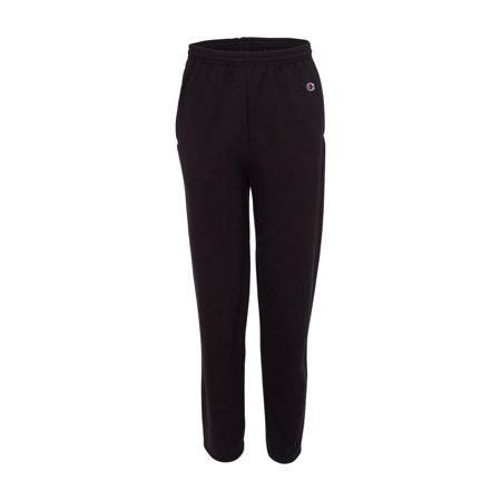 Champion Fleece Double Dry Eco Open Bottom Sweatpants with Pockets P800 ()