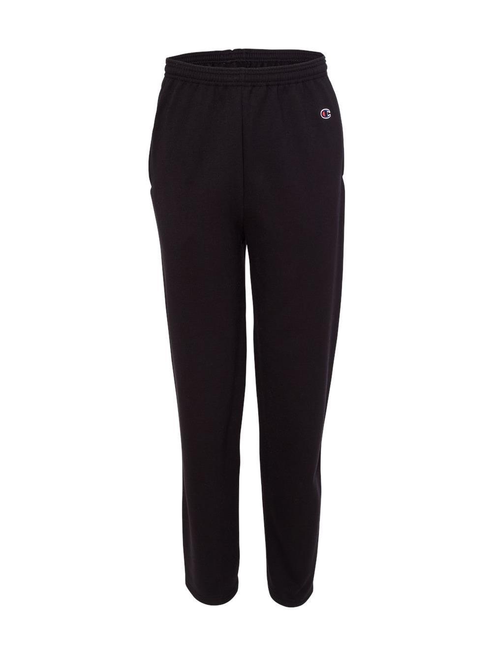 Champion Fleece Double Dry Eco Open Bottom Sweatpants with Pockets P800