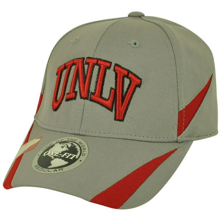 NCAA Top of the World UNLV Las Vegas Running Rebels Kicker 1Fit Flex Fit Hat Cap ()