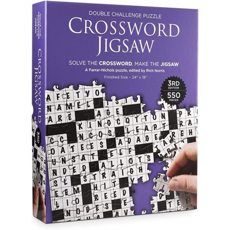Crossword 550 Piece Jigsaw Puzzle | 3rd Edition - image 1 of 1