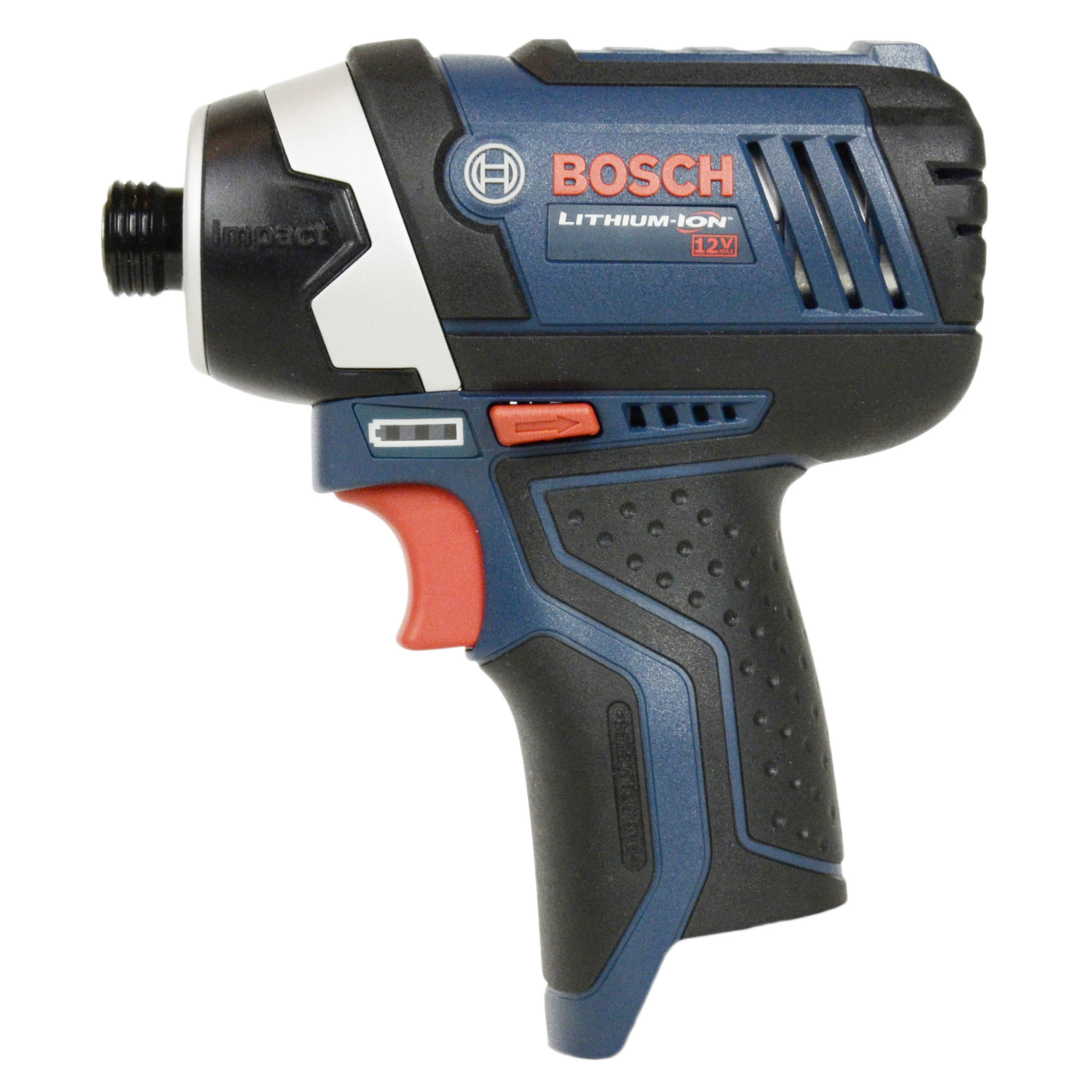 "Bosch Tools PS41 10.8V-12V 1/4"" Hex Max Cordless Lithium-Ion Impact Driver, Bare Tool"