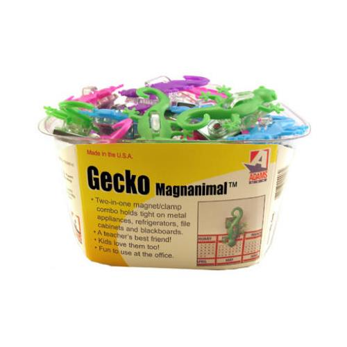 Adams Mfg 1330-53-3848 Powerful Gecko Magnet Clip In Assorted Colors