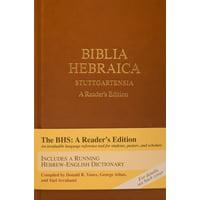 Biblia Hebraica Stuttgartensia : A Reader's Edition