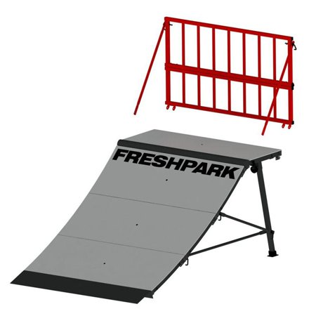 Freshpark Skateboard Ramp Safety Rail ()