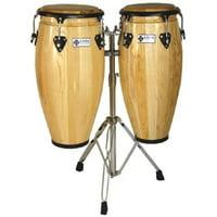 CODA DP-410-11 Conga Drum, Natural Multi-Colored