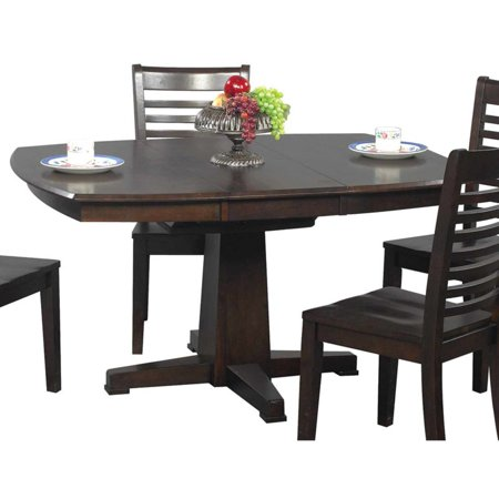Casual Dining Butterfly Leaf (Winners Only Sante Fe Pedestal Dining Table with 15 in. Butterfly Leaf)