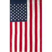 "Embroidered American Flag Garden Flag Stars & Stripes USA 12"" x 18"""