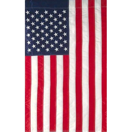 Embroidered American Flag Garden Flag Stars & Stripes USA 12