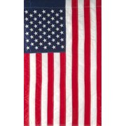 "Embroidered American Flag Garden Flag Stars & Stripes USA 12"" x 18"""