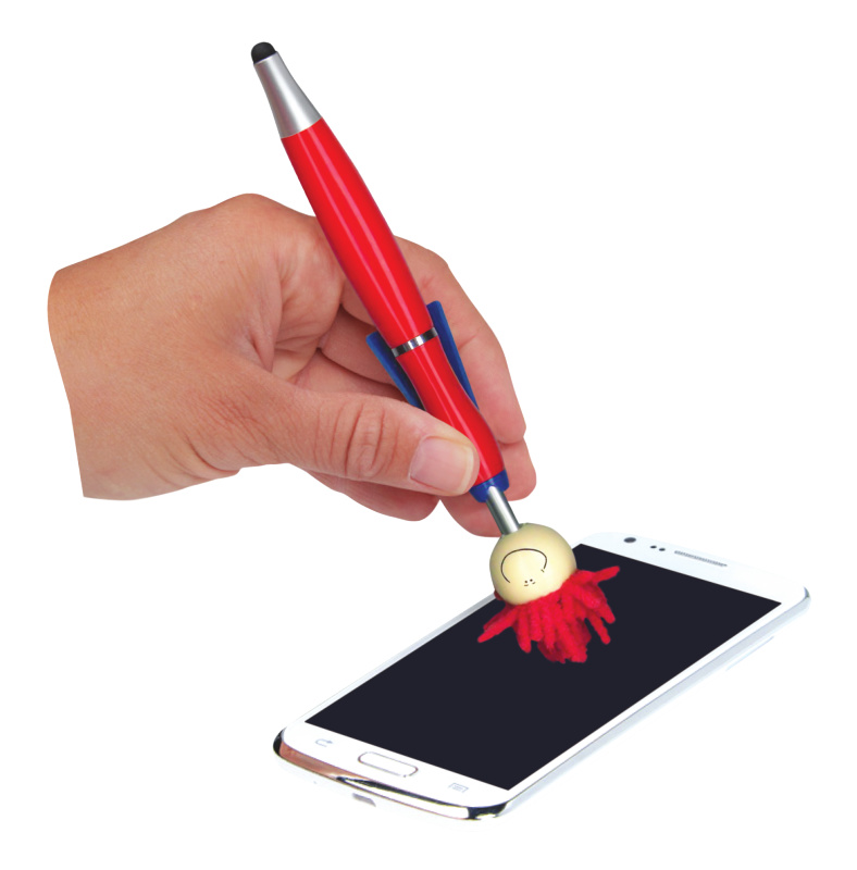 MOP TOPPER™ QTY 1 STYLUS PENS MICROFIBER SCREEN//iPAD CLEANER FOR COMPUTERS