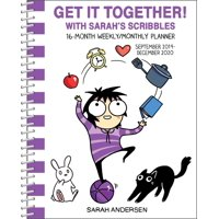 Sarah's Scribbles 16-Month 2019-2020 Monthly/Weekly Planner Calendar (Other)