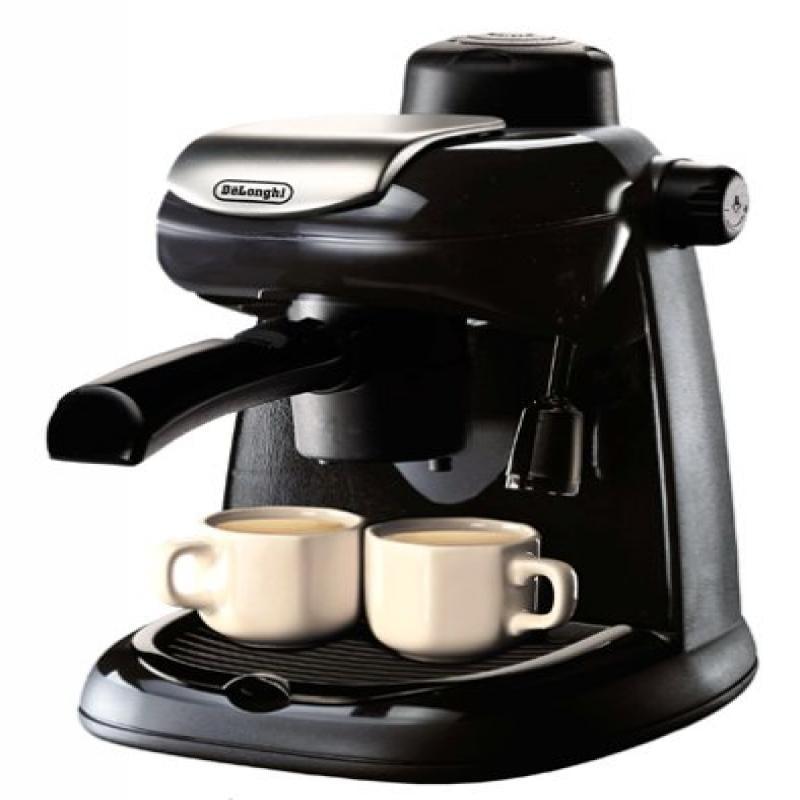 DeLonghi EC5 Steam-Driven 4-Cup Espresso and Coffee Maker ...