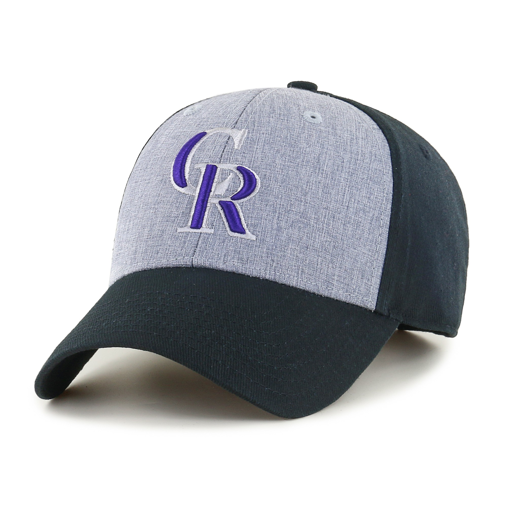 Fan Favorite MLB Essential Adjustable Hat, Colorado Rockies