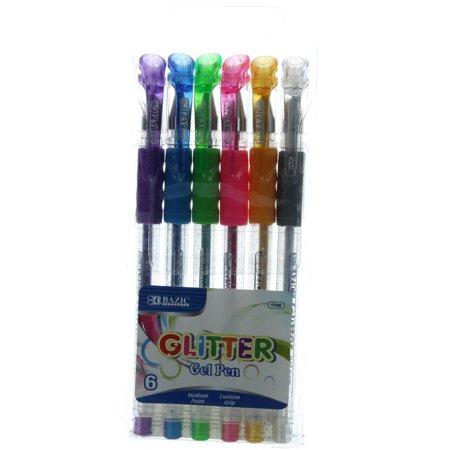 BAZIC 6 Retractable Color Pen w/ Cushion Grip