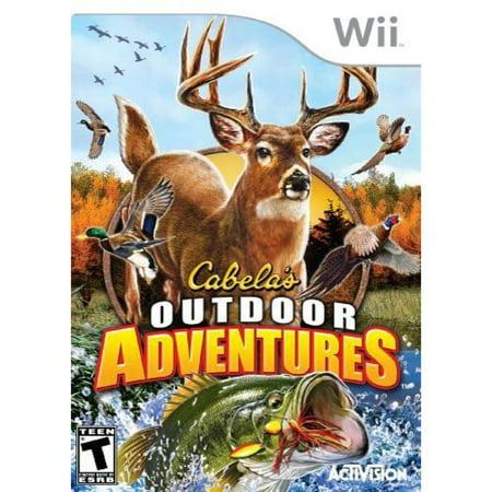 Cabelas Outdoor Adventure 2010   Nintendo Wii