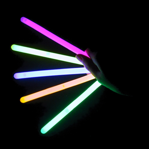 "Lumistick 4"" Glow Sticks, Assorted Colors, 25 ct"