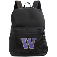 Washington Huskies 16'' Made in the USA Premium Backpack - Black - No Size