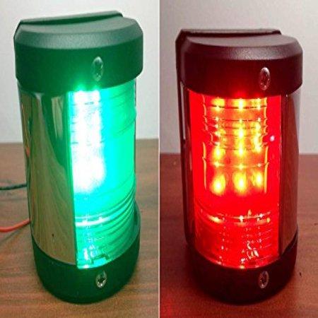 Port Navigation Light (MARINE BOAT GREEN STARBOARD AND RED PORT SIDE LED NAVIGATION)