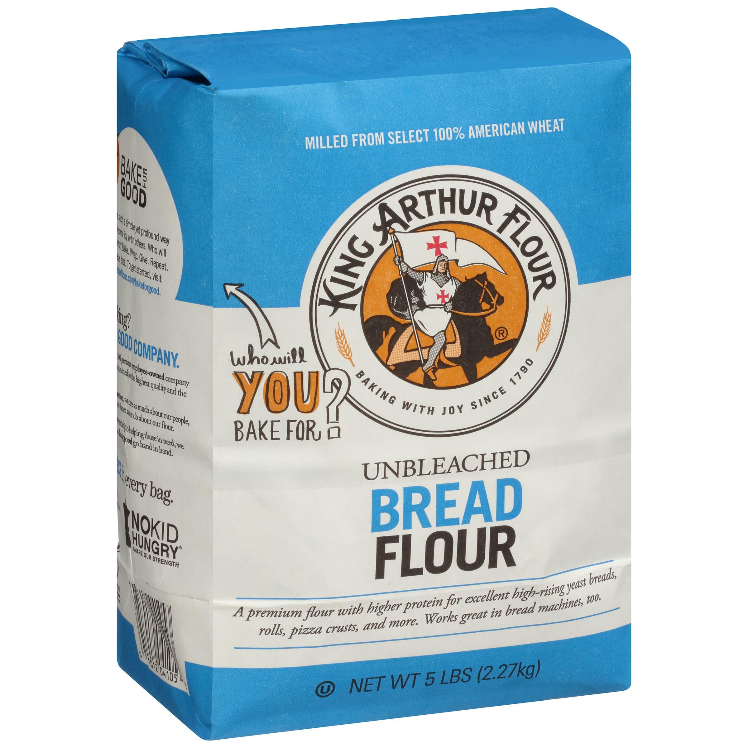 King Unbleached Flour Arthur Bread Flour 5 Lb