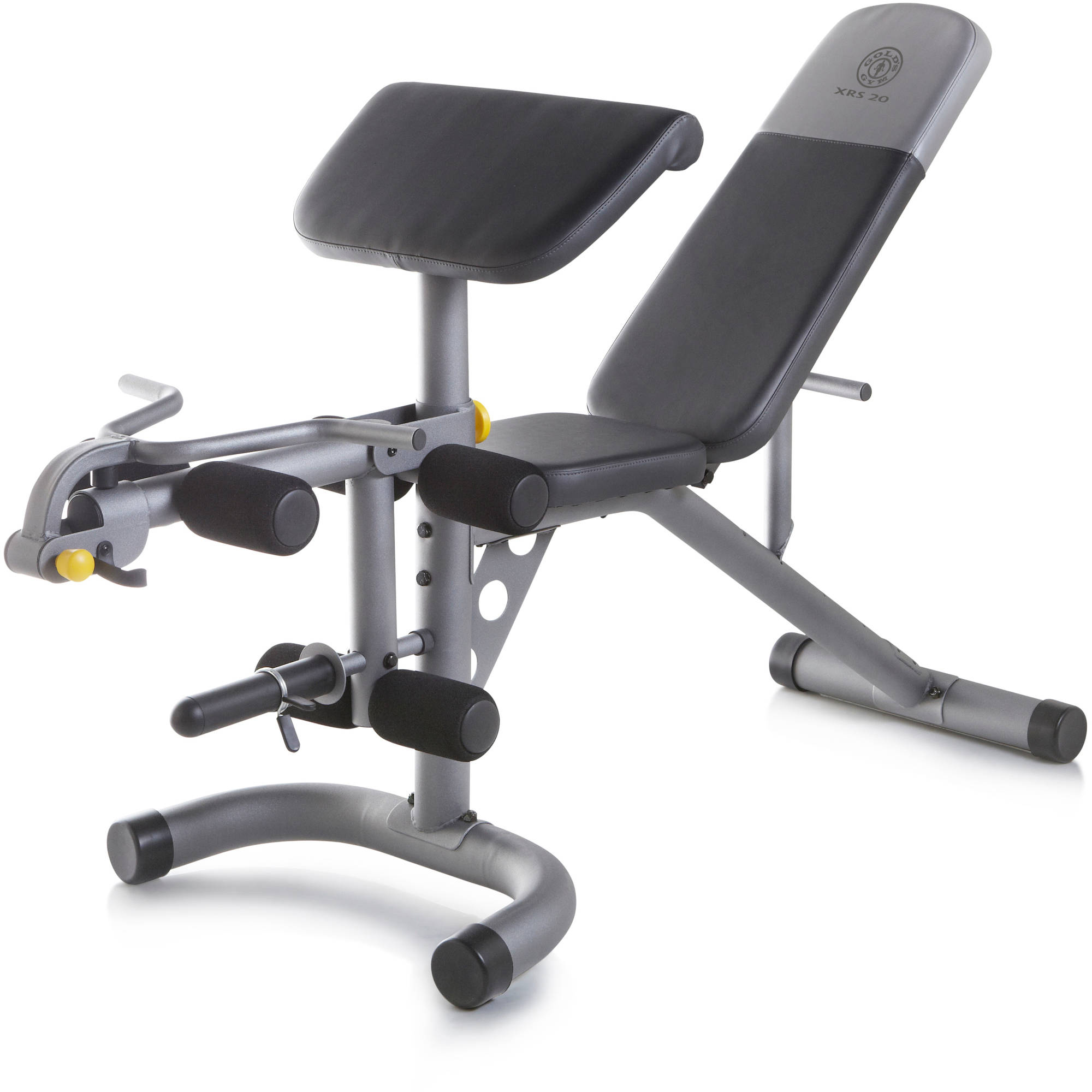 Home Gym System Equipment Fitness Workout Bench Exercise Adjustable Leg Machine Ebay