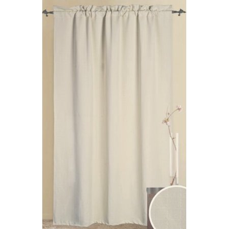 Alaska Black Thermal Insulated Blackout Curtain 84 L