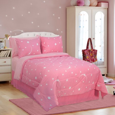 Veratex Glow In The Dark Stellar Bedding Walmart Com