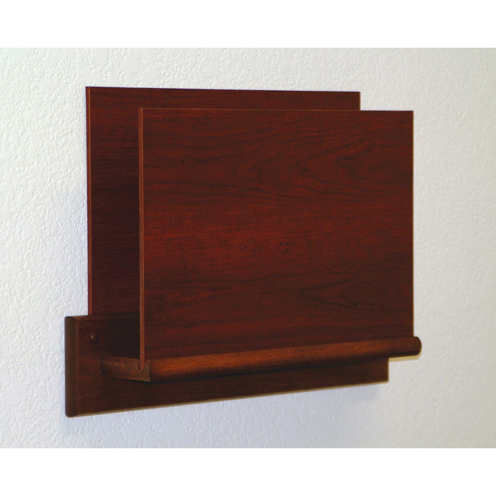 Wooden Mallet Open End Chart Holder