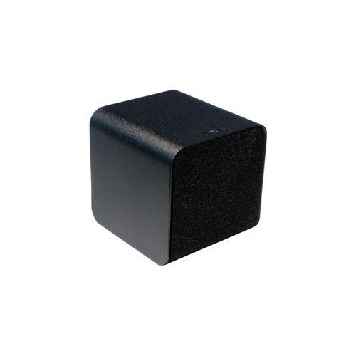 NuForce NF-CUBE-SPEAKER-SILVER Cube Portable Speaker, Headphone Amplifierlifier, and USB DAC - Silver