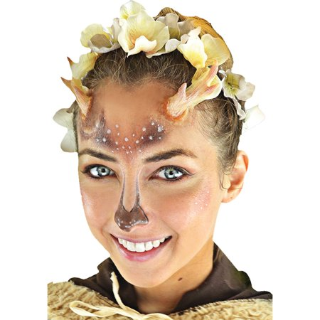 Faun Complete 3D FX Makeup Kit Adult Halloween Accessory](Halloween 3d News)
