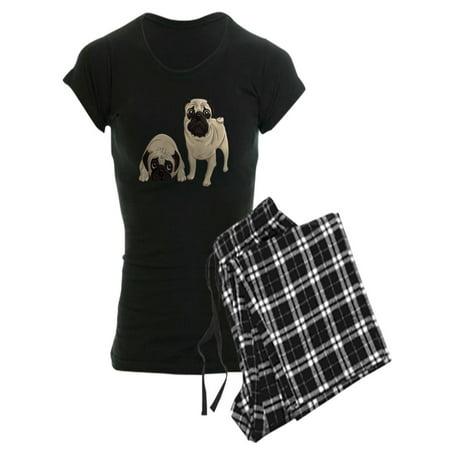 CafePress - Pugs - Women's Dark Pajamas