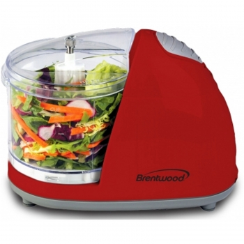 Brentwood Mini Food Chopper - Red