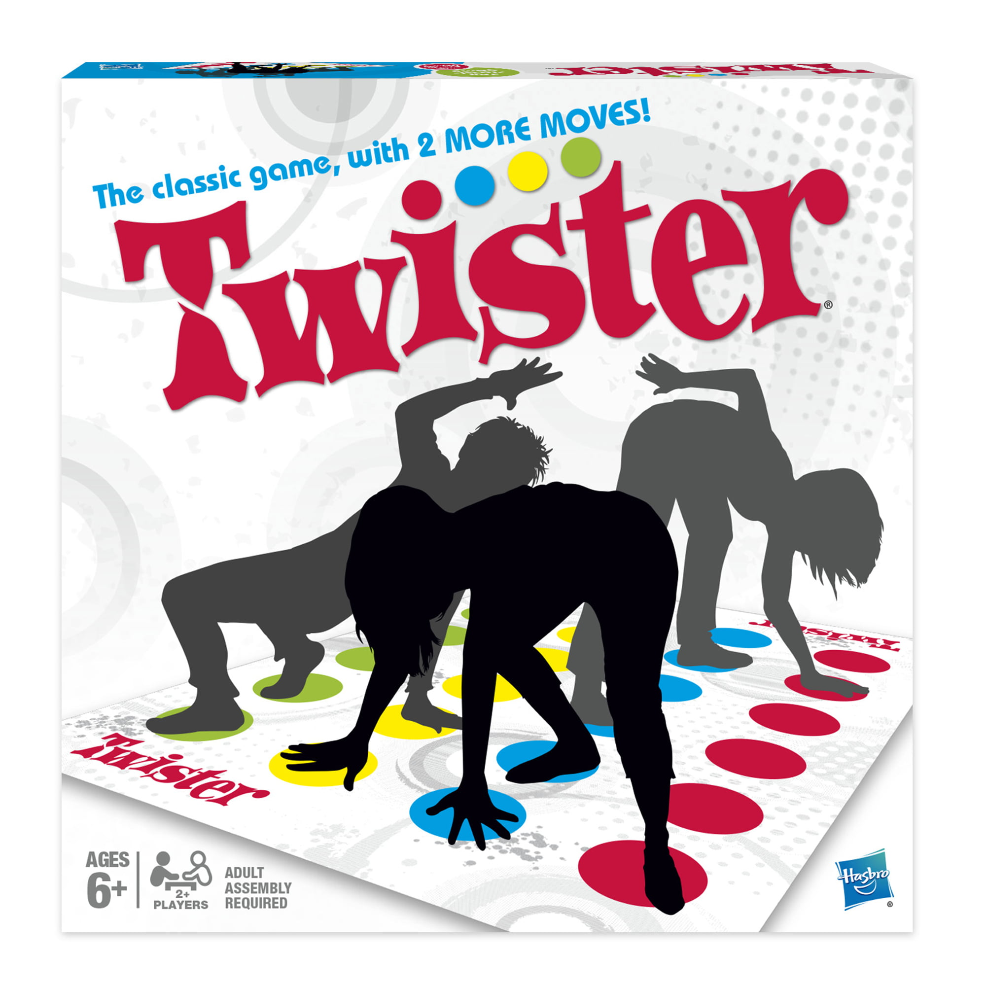 Twister Game, Ages 6 and up by Hasbro, Inc