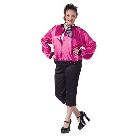 Rock N Roll Sweetie Adult Costume - Plus Size - Halloween Costumes Rock And Roll