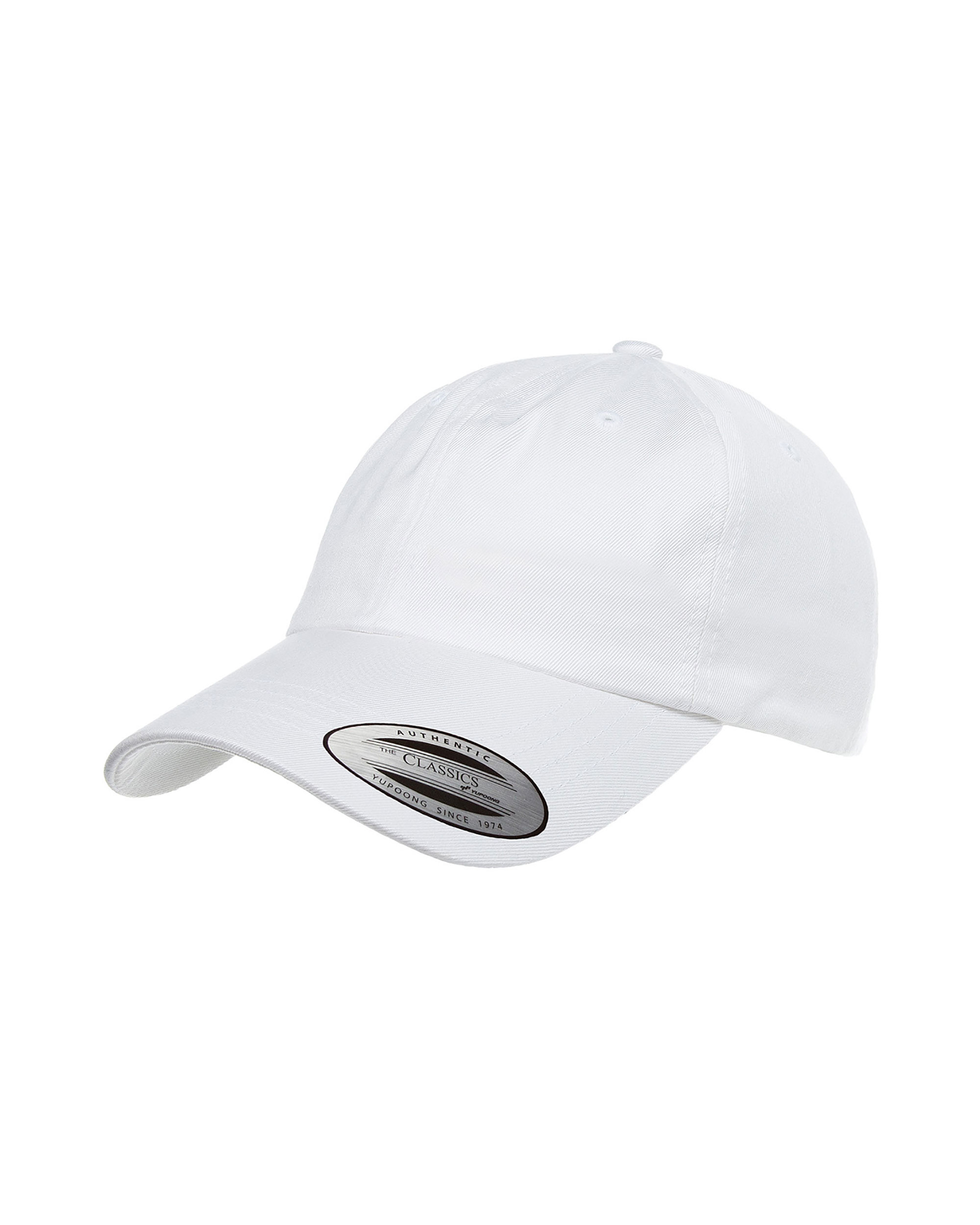 8c346cc670f Yupoong - Yupoong Adult Low-Profile Cotton Twill Dad Cap