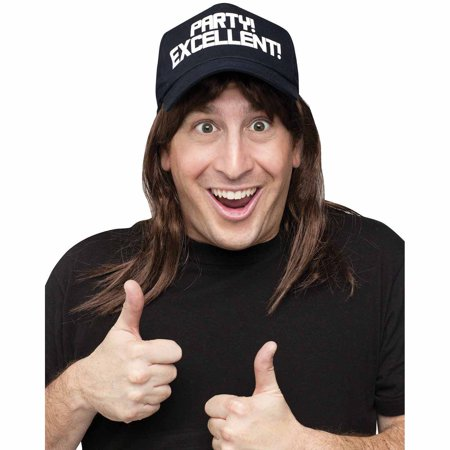 Excellent! Wayne Wig and Hat Accessory Kit Adult Halloween Accessory