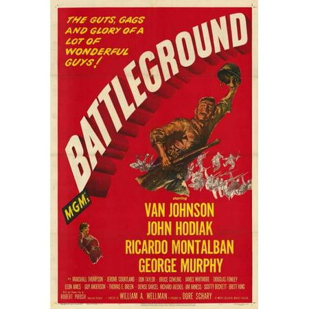 Battleground - movie POSTER (Style A) (27